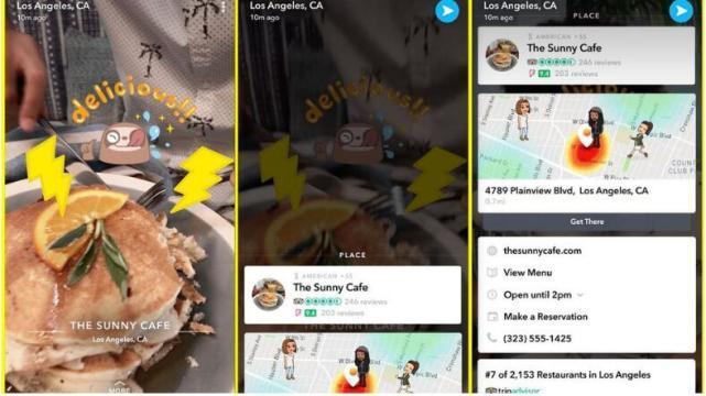 外媒:Snapchat大升级 要成为美国版微信(组图)