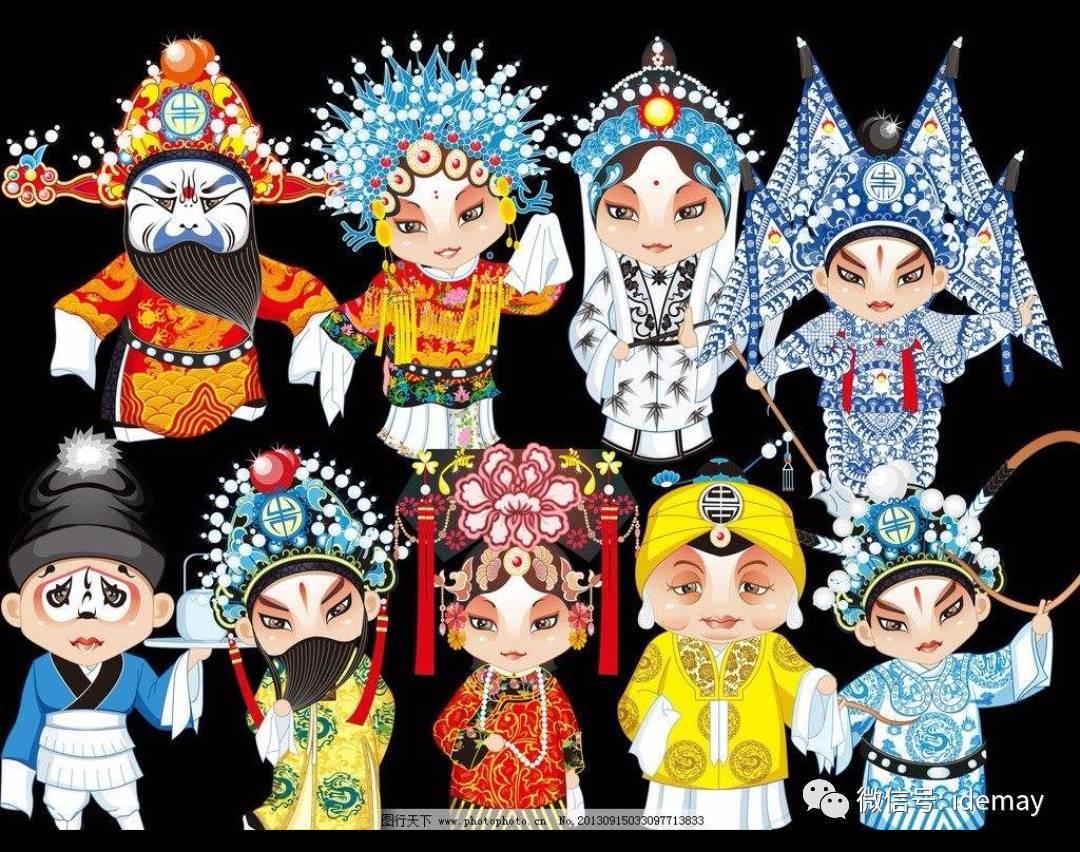 生旦净末丑 中国文化路——记德美宝贝幼儿园延伸活动