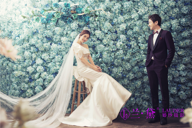 穿白色婚纱――拍永恒的婚纱照