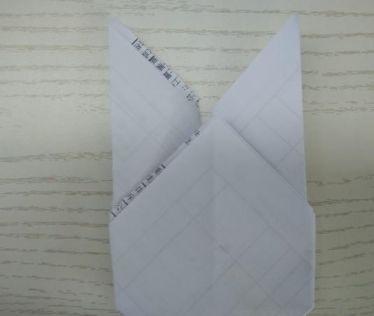 最简单小兔子折纸图解步骤九