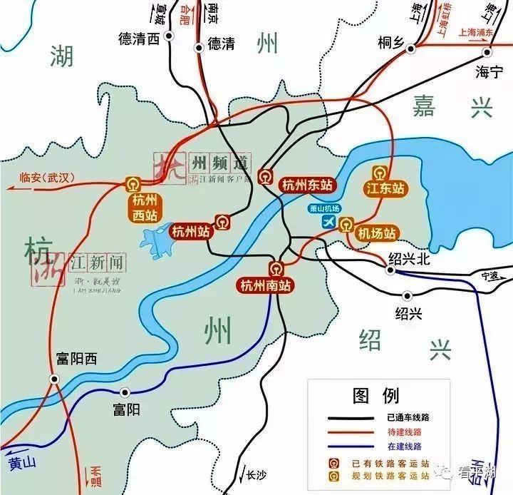 沪乍杭高铁规划获批