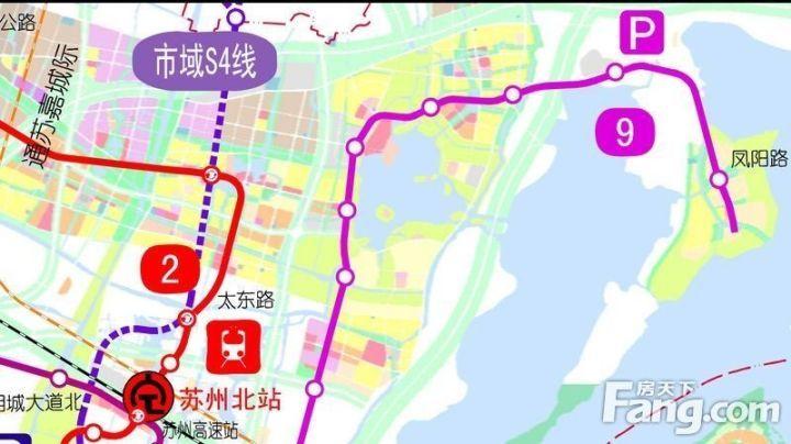 苏州地铁1 9号线 S1 S6号线路最新进展一览图片