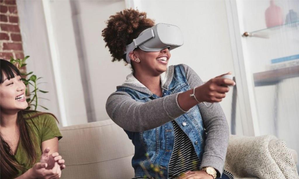摆脱电脑乐通娱乐束缚!Facebook推出独立VR头显Oculus Go,戴上就能疯狂打机