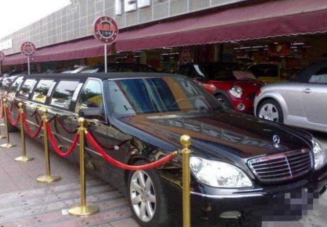 9.3米的奔驰S500,全国仅有一辆,李嘉诚、马云都买不到!_搜狐汽车_搜狐网