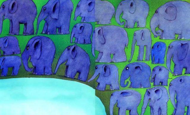 花格子大象艾玛|绘本故事