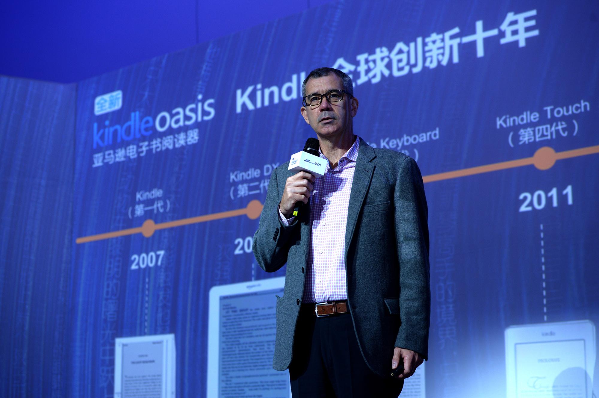 中国成长为亚马逊在全球Kindle设备销售的第一大市场