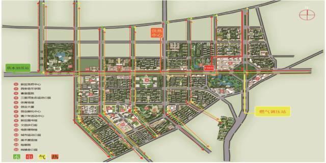 新区规划图