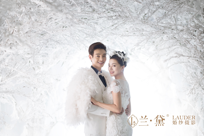丰满新娘拍婚纱照的小技巧