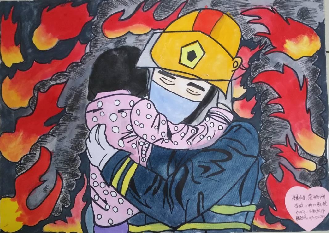 """【投票】""""我是小小消防员""""第二届儿童消防绘画作文竞赛开始投票啦!图片"""