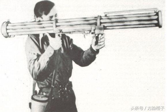 刺拳火箭筒_二战时期德国黑科技之一——刺拳多管火箭筒