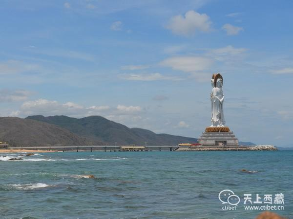 世界最大的观音像,比美国自由女神还要高15米