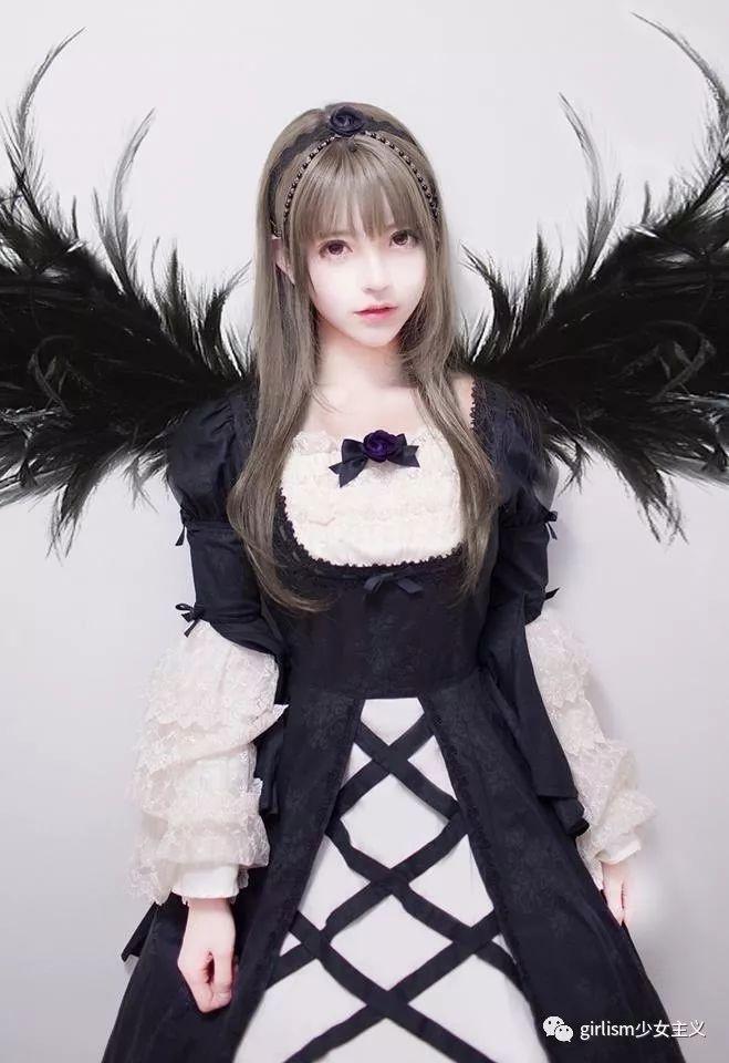 哥特Lolita 这些黑麻麻的人为什么这么美