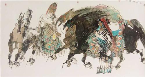 国家典藏:著名画家关麟英艺术