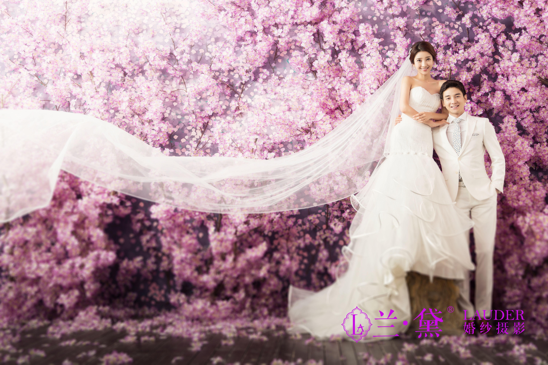兰.黛――拍婚纱照把你拍的更有女人味