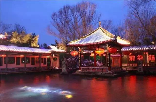 夜幕下的泉城济南,有你想象不到的美丽!