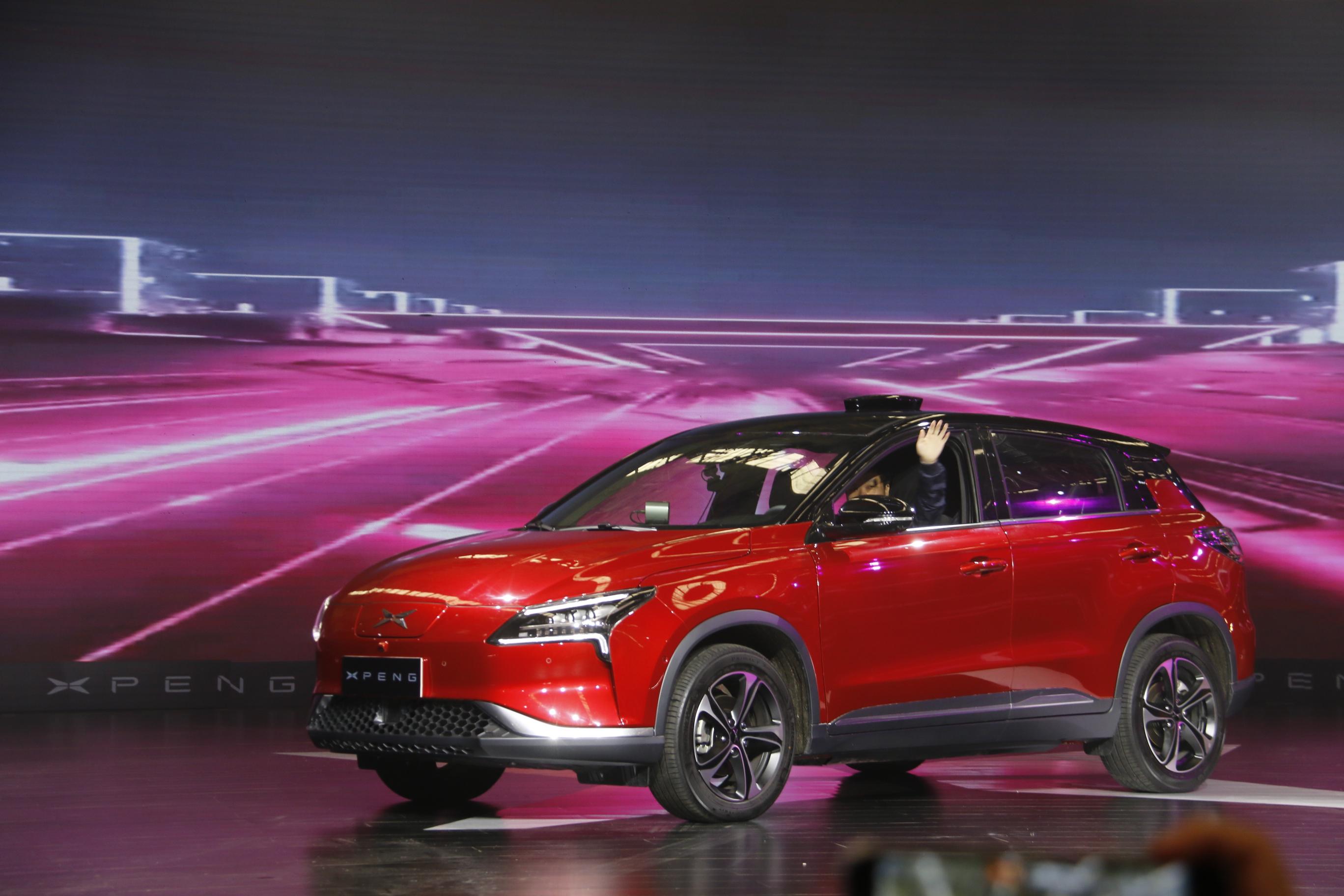 预计2018年上市+交付 小鹏首款量产车型正式下线(第1页) -