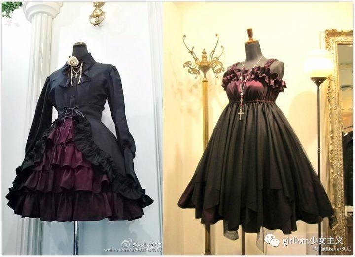 军装lolita | 穿上这些裙子,你就是最帅气的lo娘),哥特系也是它的主打图片