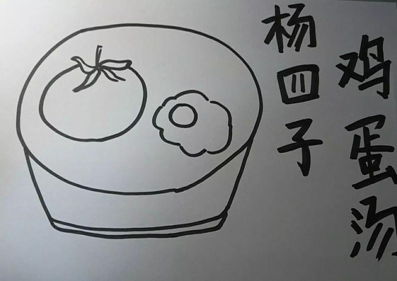 蓝鲸手绘简笔画