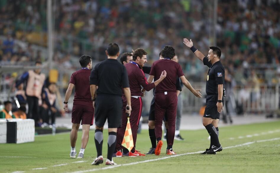 足协主席团督战中超关键比赛 裁判问题施加重压