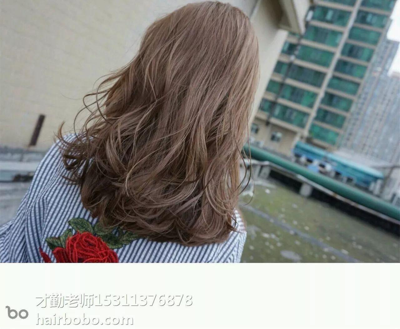 换季新发型!最新烫染造型都在这儿图片