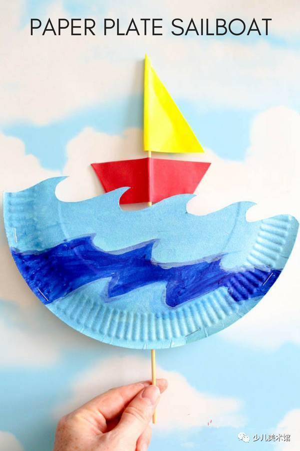 泡沫帆船手工制作