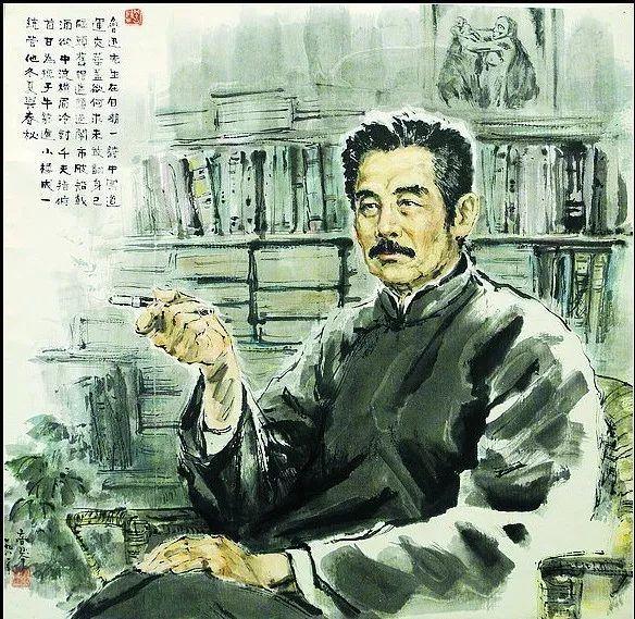 文化 正文  我为中国作家画像,鲁迅,茅盾,巴金,艾青,丁玲,曹靖华,萧乾