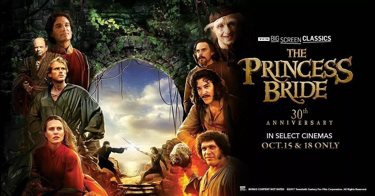 the princess bride 30th anniversary 《公主新娘》30周年特别版播映