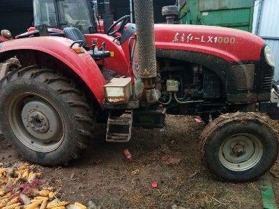 3.7万元转让九成新东方红lx1000拖拉机【配套旋耕机和秸秆还田机】