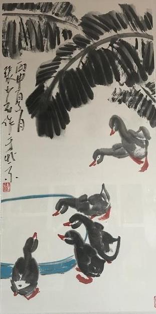 稚而不拙绝而不娇 ――读张少石先生的花鸟画