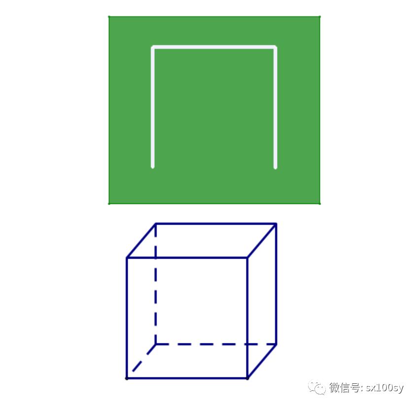 上面讨论的正四面体框架或正方体框架,能不能有的面不挖掉也可以穿过图片