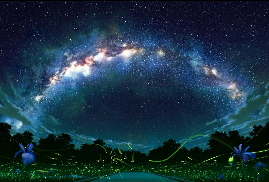 动漫壁纸:那些美丽的风景