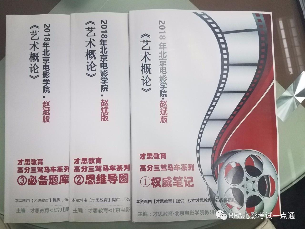 【发给新来的同学看的】2018年北京电影学院赵斌版《艺术概论》三驾马图片