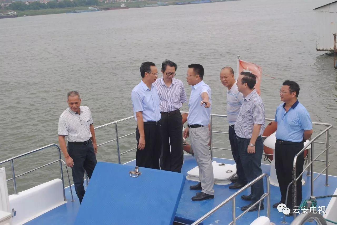 大力发展休闲渔业、观光渔业省海洋与渔业厅领导到云安调研时这样说!