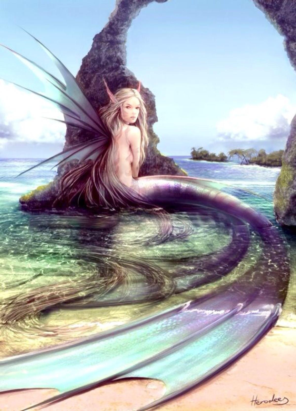 古希腊神话故事 星巴克标志上的女妖塞壬图片
