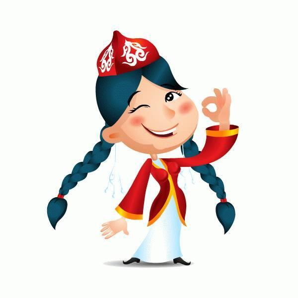 最炫民族风—哈萨克动漫头像来袭