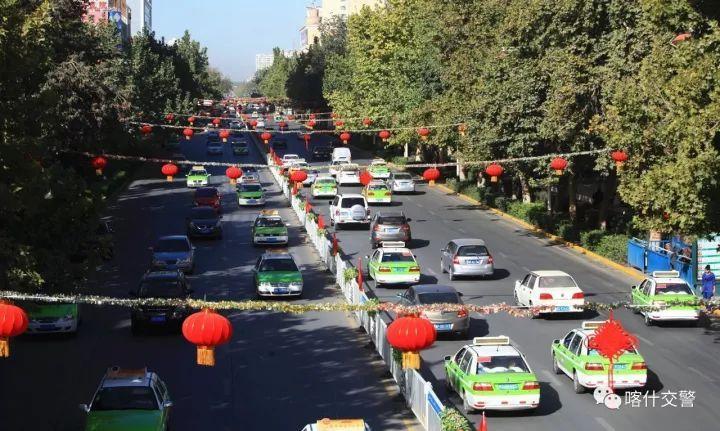 喀什市177处电子警察今日上岗!对超速闯红灯违法停车等全天候抓拍!图片