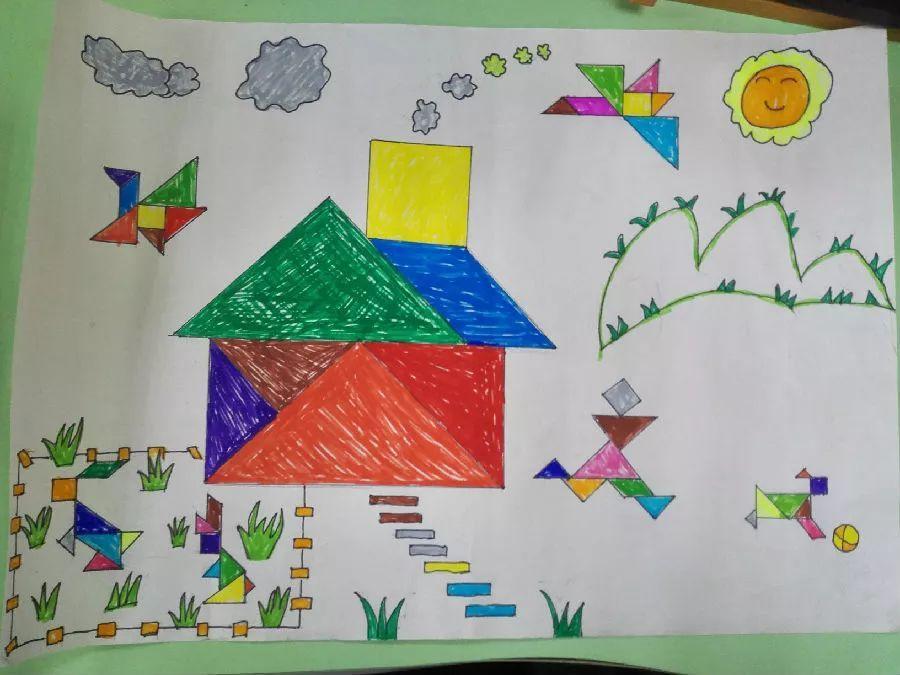 梦园小学(东区):创意拼搭,玩转数学图片