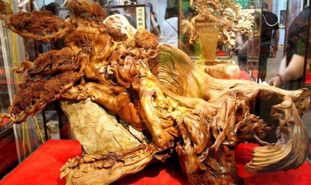 当树根变成根雕艺术,这样的美竟然才发现?