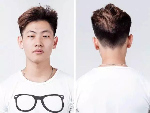这发型估计是村口理发店创意总监托尼老师,自由发挥的艺术成果,一个字图片