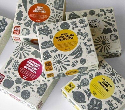 【包装】国外高大上的食品包装设计长这样cad1绘制1图片