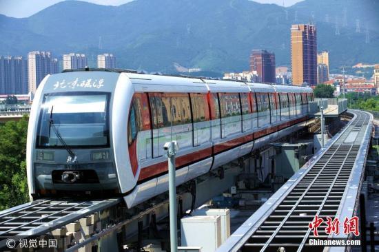 北京首条磁浮列车线路年底试运营 日客运量16万人次