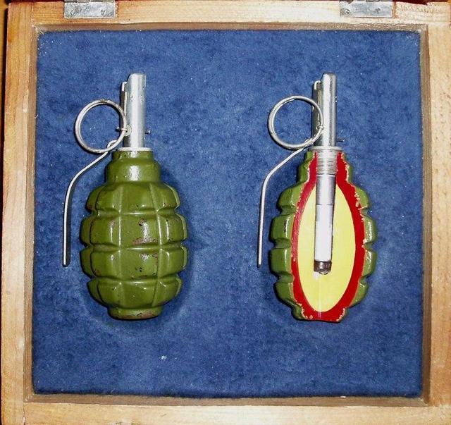 国产防-1(f-1)式手榴弹