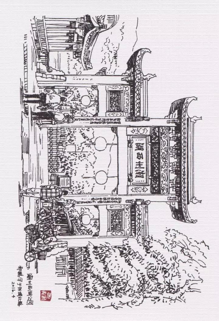一纸《潮州印象》手绘明信片,献给每一个热爱生活的