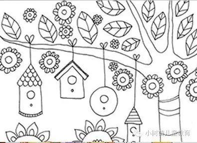 通过细心观察,认真比较,让孩子制作出秋天主题的装饰来,今天分享的图片