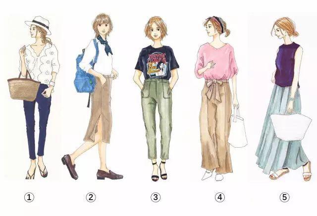 5套衣服选一套,测出你身上最吸引人的气质,超准!