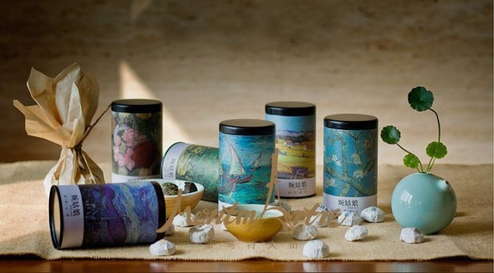 【蒙马特大街】艺术衍生品茶叶图片