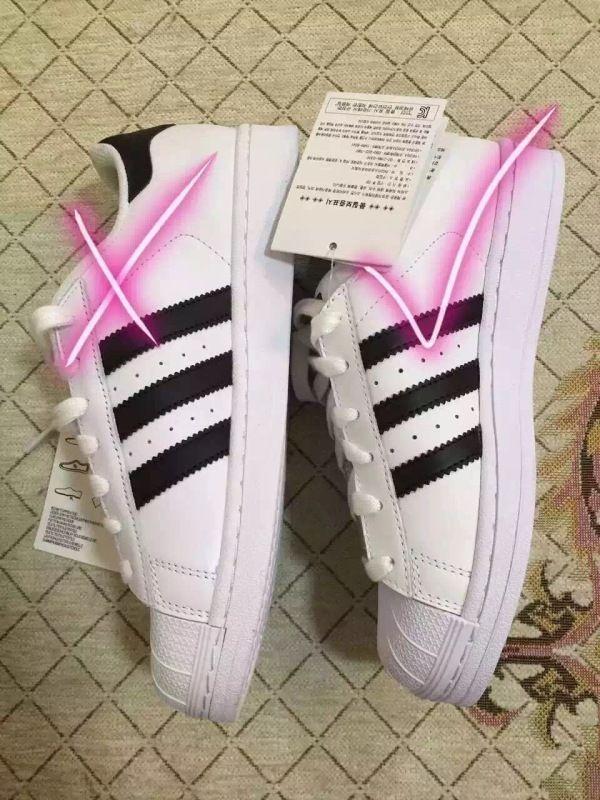 学会这几招,就可以辨别阿迪达斯Adidas贝壳头鞋真假