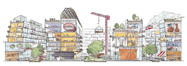 社区公园平面图简笔画