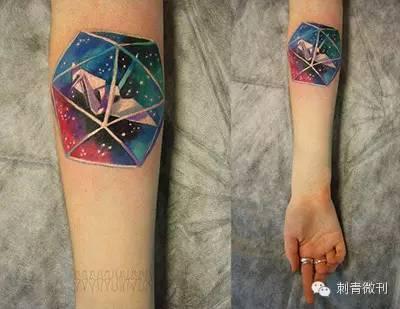 代表单身的纹身图案分享展示图片