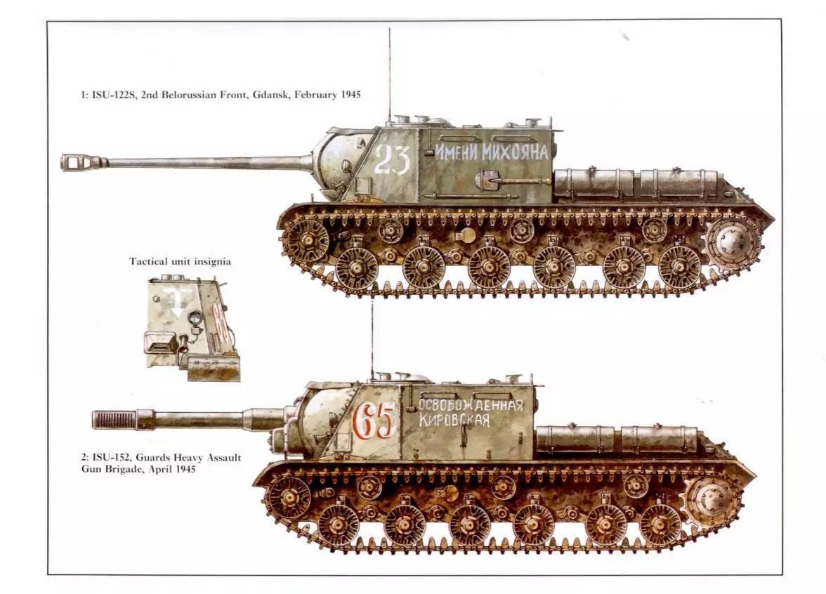 坦克及装甲车彩绘或实物续